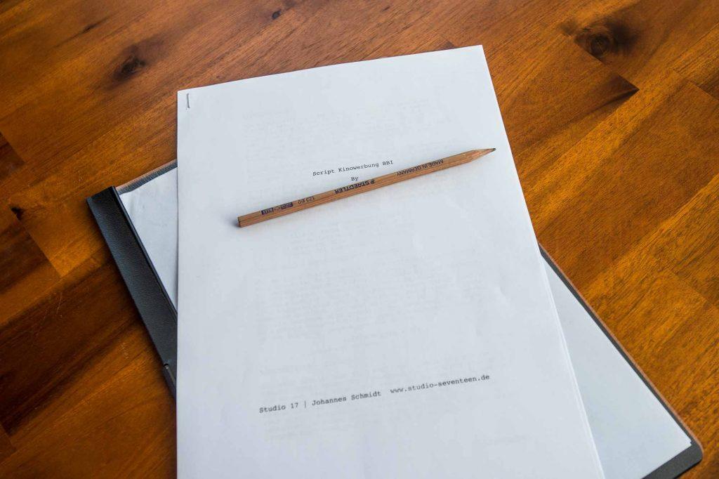 Studio17 Medienproduktion: Konzeption, Planung und Drehbuch sind das A und O für den Imagefilm